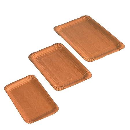Pro DP 2500 - Platos de cartón orgánico (11 x 17,5 cm, FSC Mix ...