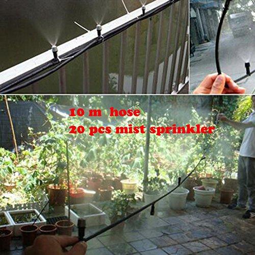 Amazon com: Hose | Mist Sprinkler | Outdoor Misting Cooling