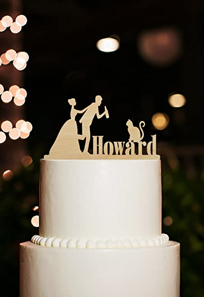 Amazon Com Funny Wedding Cake Toppers Drunk Groom And Bride