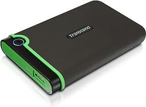 Transcend 2 TB StoreJet M3 Military Drop Tested USB 3.0 External Hard Drive (TS2TSJ25M3)