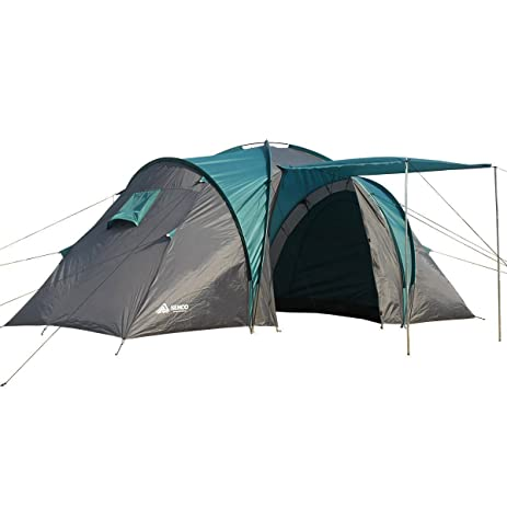SEMOO Waterproof Roomy 4-Person 3-Season Family C&ing Tent with Floor 2000mm  sc 1 st  Amazon.com : tent with floor - memphite.com