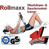 B-WARE!! - Rollmaxx Bauchtrainer - Achtung Vor dem Kauf unbedingt die Bilder und Beschreibung beachten!! Bauchmuskeltrainer Crunch Fitness Muskeltrainer Roll Maxx Geschenk Marke Crane (Aldi) von SchwabMarken, 1 Stück