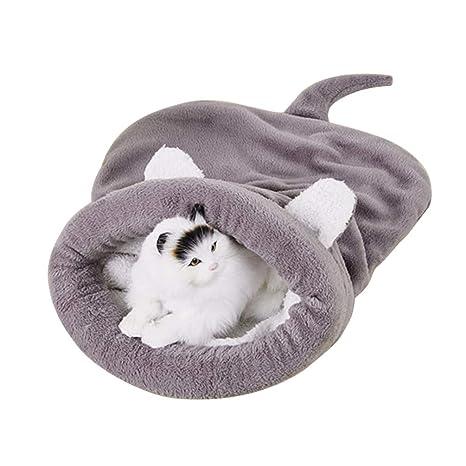Saco de Dormir del Perro del Gato del Animal Doméstico, Cómodo Suave de la Casa