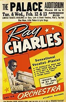 RR03 Vintage Ella Fitzgerald Rock /& Roll Concert Advertisement Poster A3//A4
