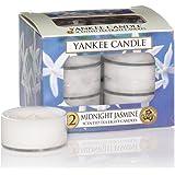 yankee Candle 的茶灯蜡烛午夜茉莉12支装