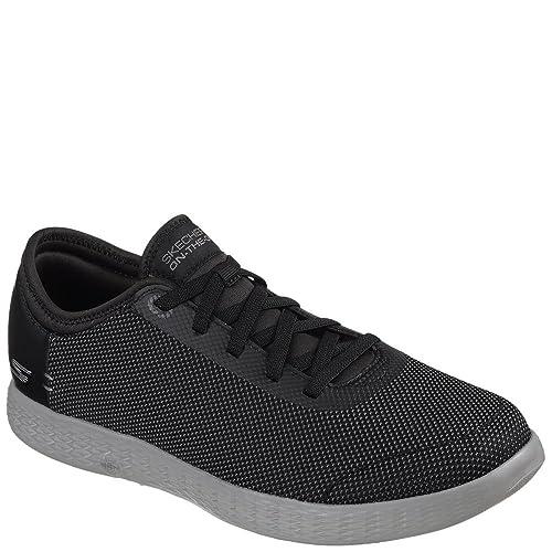 2dfbc4ce72 Skechers 2 Tone Mesh Shoes - Men s - Black Grey