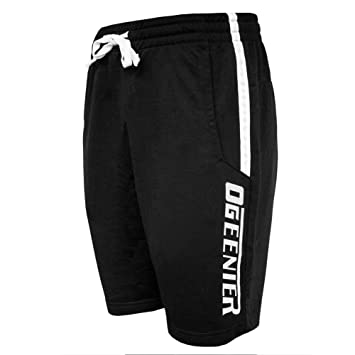 Ogeenier Deporte Pantalones cortos para Hombre con bolsillos y letras reflectantes para Running Training Ciclismo KOnipVI