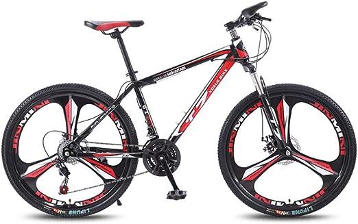 QJ Bicicleta De Montaña, con Amortiguador De Carrera En ...