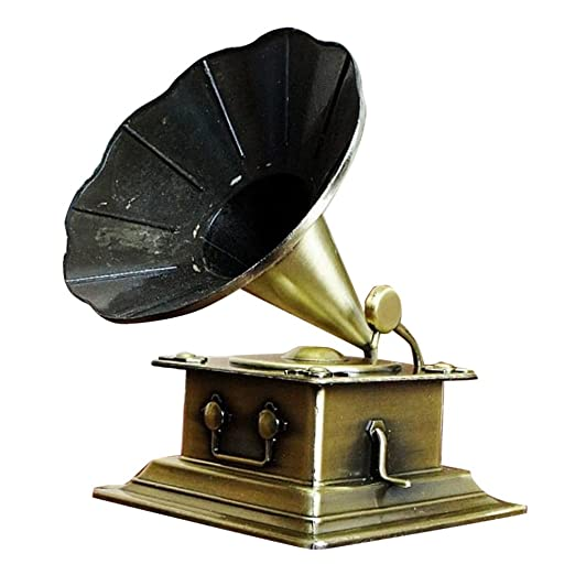 sharprepublic Retro Fonógrafo Modelo Vintage Tocadiscos ...
