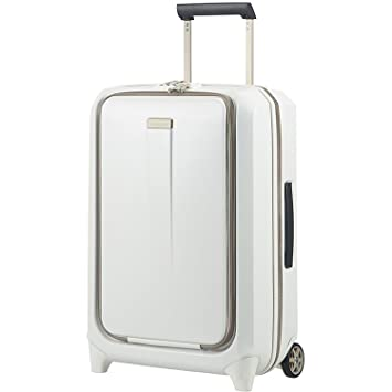 Samsonite Prodigy Upright 55 - Equipaje de Mano, 2.6 kg, 55 cm, 43 L, Color Blanco (Off White): Amazon.es: Equipaje