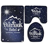 Overlook Hotel Skidproof Toilet Seat Cover Bath Mat Lid Cover
