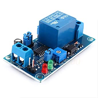 Time Delay Relay 12V DC Delay Relay Delay Turn off Switch Module with Timer