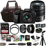 PANASONIC LUMIX G7 4K w/14-42mm & 45-150mm Lenses & 128GB Bundle