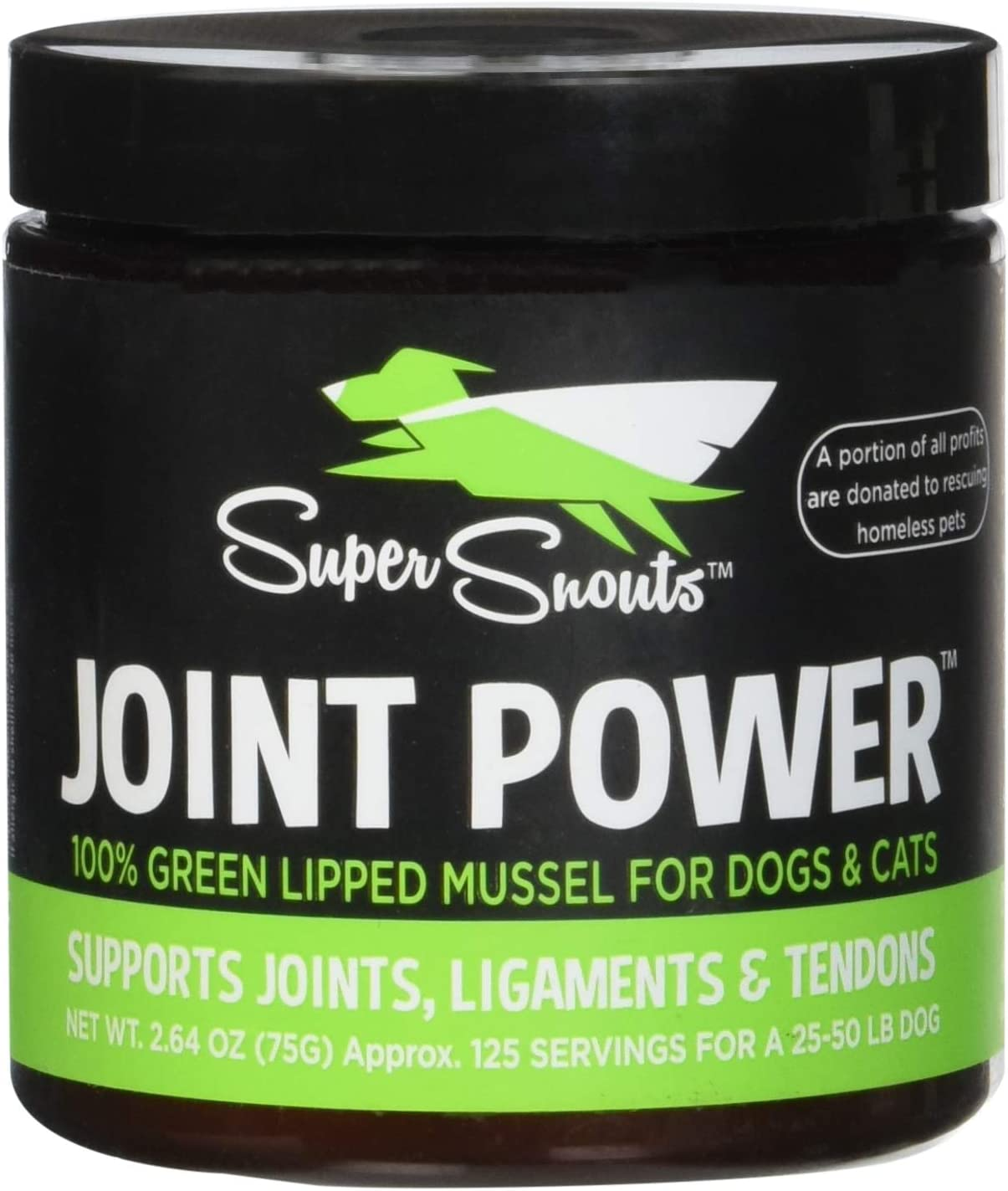 Super Snouts Joint Power Immune Health 100 Green Lipped Mussel 75 grams