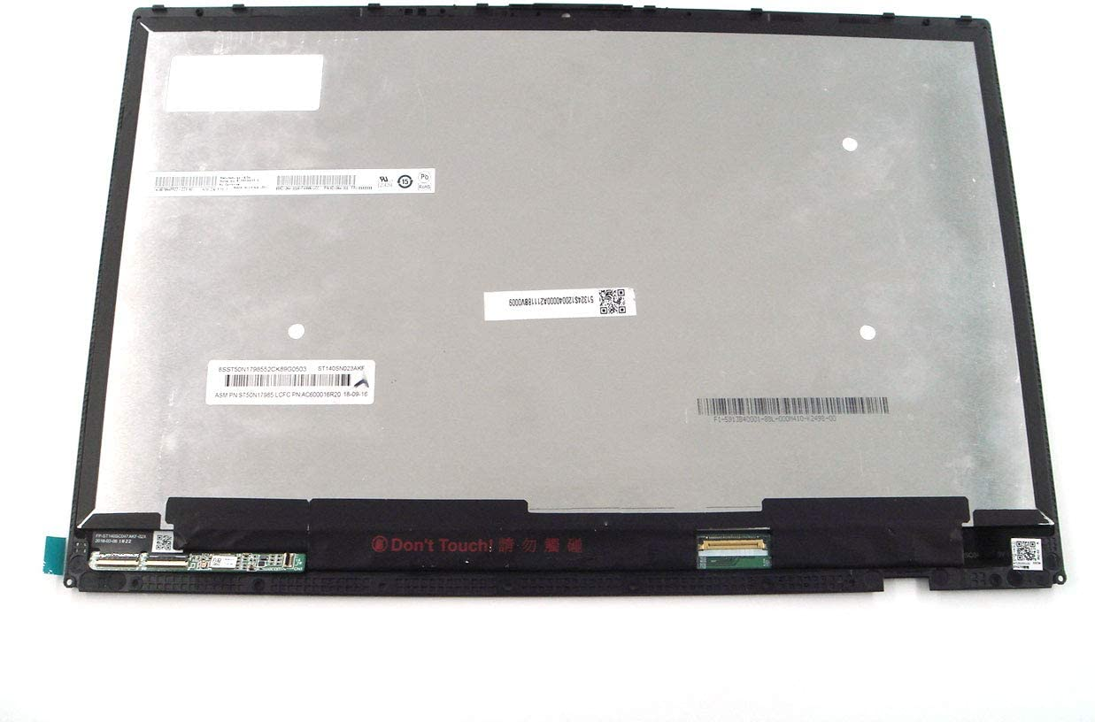 """Genuine Parts for Lenovo Yoga C930-13IKB &Glass 13.9"""" FHD(1920x1080) Touch LCD Screen Module with Bezel 5D10S73319"""
