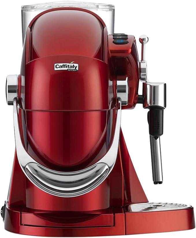 Caffitaly Nautilus S06HS Rosso Independiente Máquina de café en cápsulas 1,2 L Semi-automática - Cafetera (Independiente, Máquina de café en cápsulas, 1,2 L, Cápsula de café, 950 W, Rojo): Amazon.es: Hogar