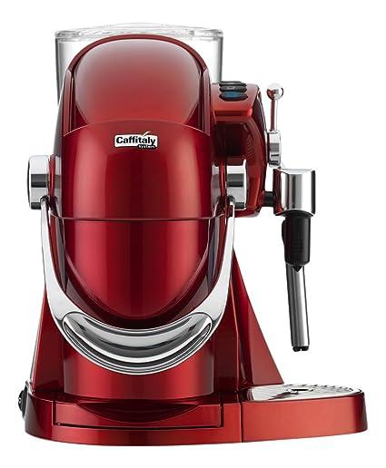 Caffitaly Nautilus S06HS Rosso Independiente Semi-automática Máquina de café en cápsulas 1.2L Rojo