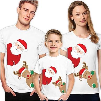 Pareja Camisas De Navidad Para La Familia Divertido Hombres Mujeres Chicos Niñas Niños Disney Camisetas 2019 Clothing