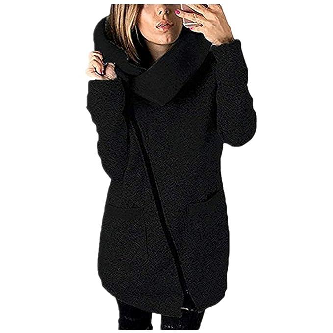 8d569d284109 beautyjourney Cappotto Donna Cappuccio Taglie Forti Invernale Elegante  Lungo Cappotti Eleganti Parka Lunghi Giacca Donna Elegante