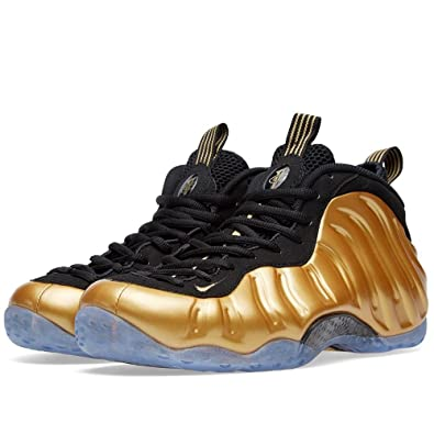 Nike Air Foamposite One Metallic Gold Men Casual Sneakers New