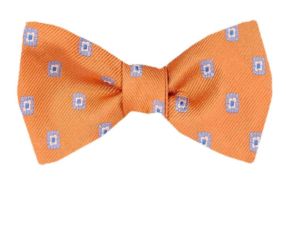 FBTZ-1033 Mens Silk Self Tie Bowtie Tie Yourself Bow Ties