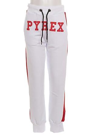 Pyrex - Chándal Infantil, Color Blanco: Amazon.es: Ropa y accesorios