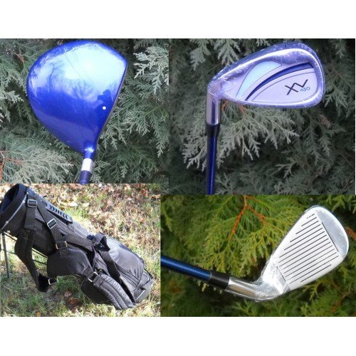 AGXGOLF Impact XV Ladies Left Hand Intermediate Golf Club Set w/Ladies Bag & Free Putter Regular or Petite Length; Fast Shipping
