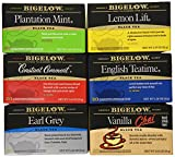 Bigelow Black Tea Variety Pack 120 Bags Caffeinated Individual Black Tea Bags, for Hot Tea or Iced Tea, Drink Plain or Sweetened with Honey or Sugar