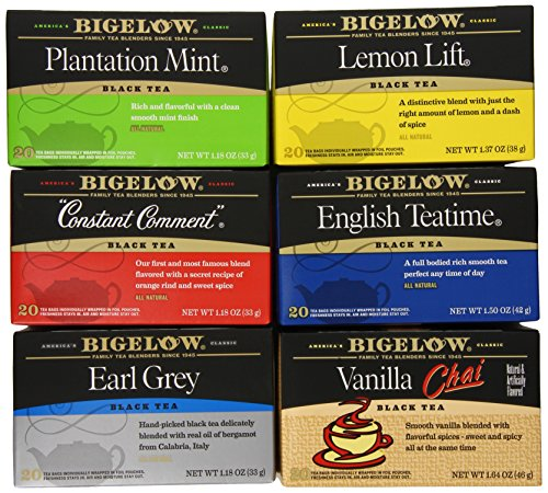 Bigelow Tea Variety Pack (Full Boxes)