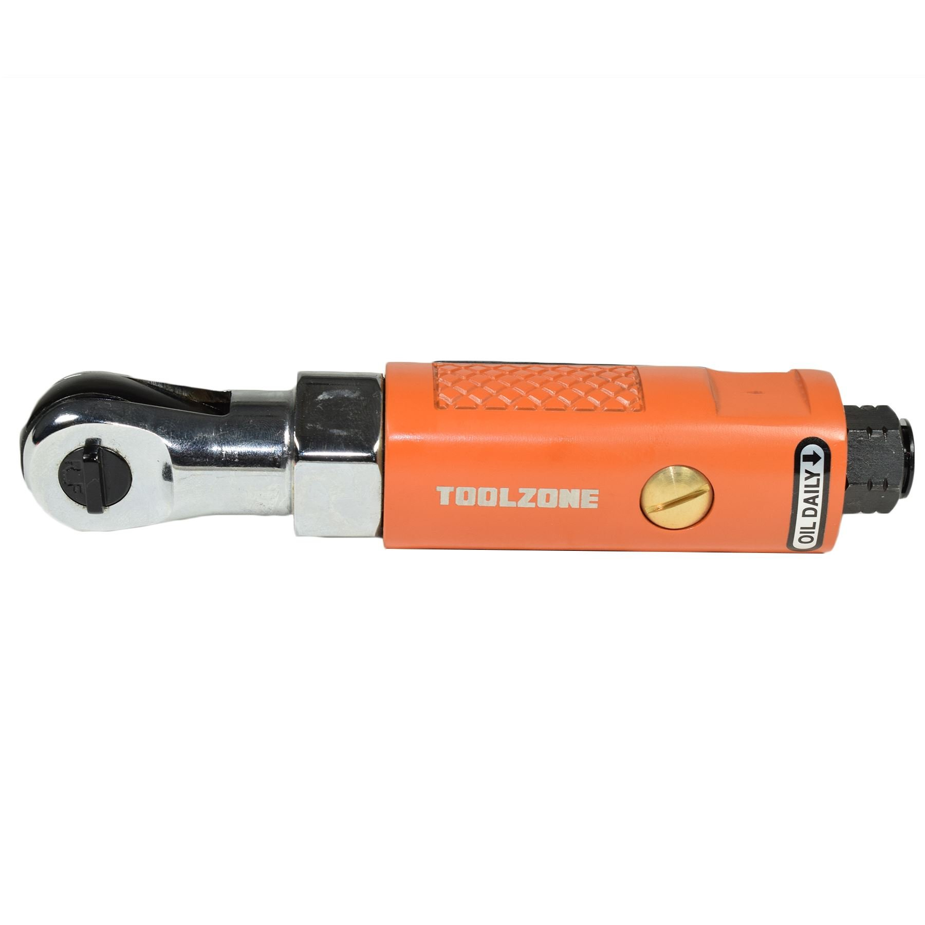 1/4'' Drive Stubby Compact Air Ratchet Wrench Reversible Max Torque 25ft/lbs