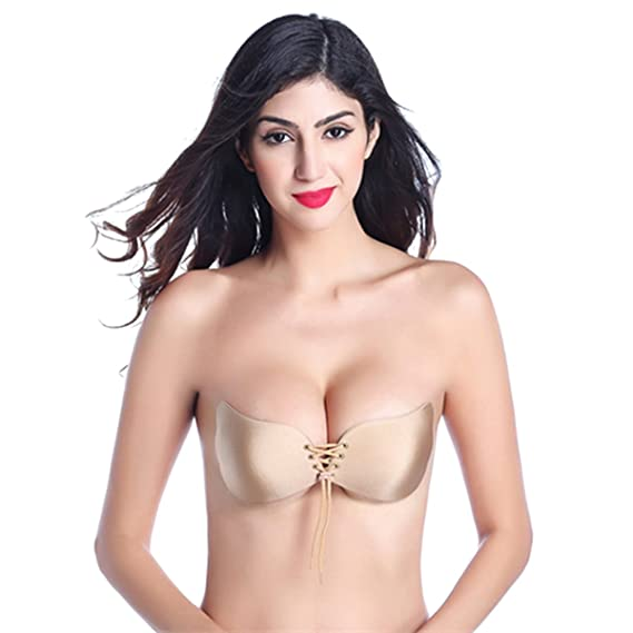WhiFan Mujeres Silicone Invisible Sujetador Push UP Bra 100% Natural Sujetador Invisible Adhesivo de Silicona: Amazon.es: Ropa y accesorios