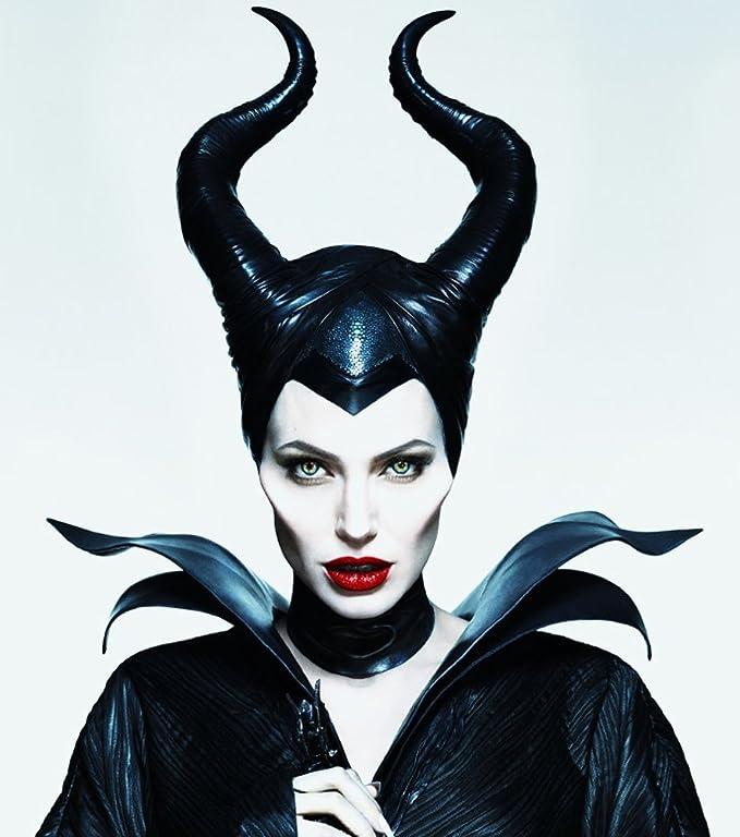 Masque Maléfique Intégral Angelina Cornes Déguisement