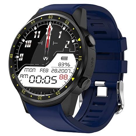 XUMINGZNSB Relojes Inteligentes Cámara Deportes GPS Reloj Inteligente Hombres F1 Podómetro Bluetooth 4.0 Soporte Smartwatch iOS