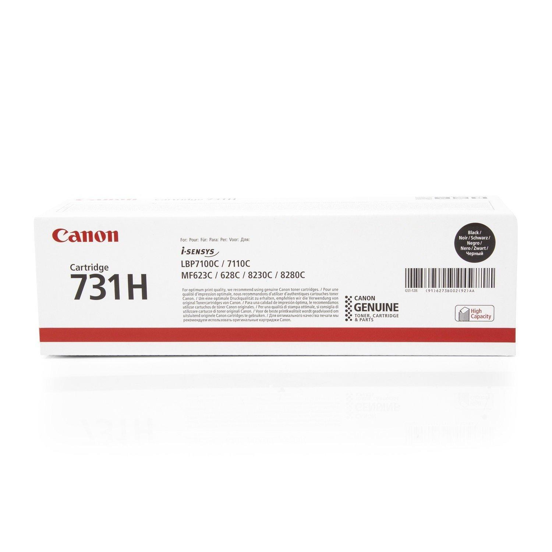 Canon 731 Cartucho Y Cartucho 731 de toner original Amarillo para Impresora Laser Isensys ec833c
