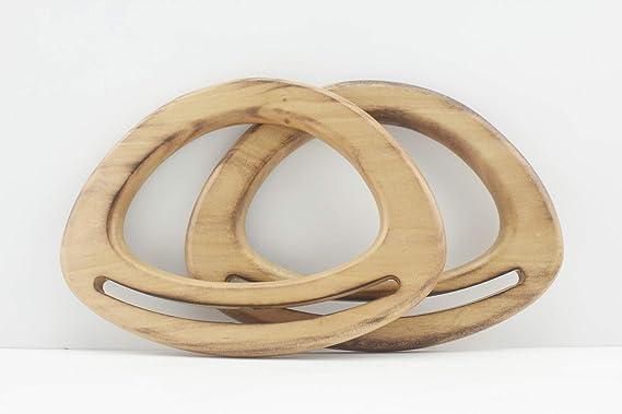 Asas de bolso de madera, asas de bolso de mano para hacer ...