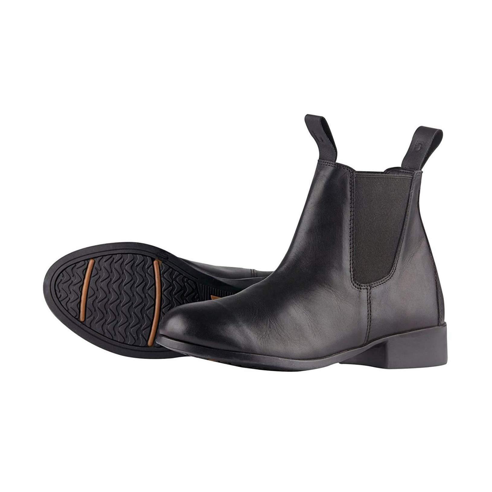 Dublin Childrens/Kids Elevation Jodhpur Boots II (12 M US Little Kid) (Black)