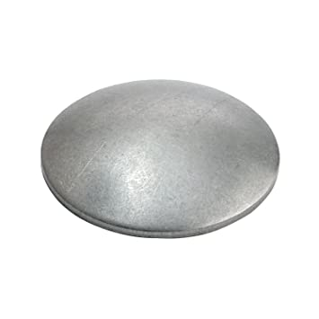 V2A Edelstahl Edelstahlscheibe gewölbt 42,4x1,5-2,0mm