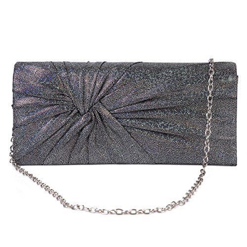 Clutch Party Damara Shining Pleated Bag Gold Embellished Womens Evening wpxYIvYzq