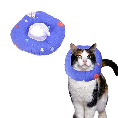 POPETPOP Collar de Recuperación para Gatito Gato, Cono Suave ...