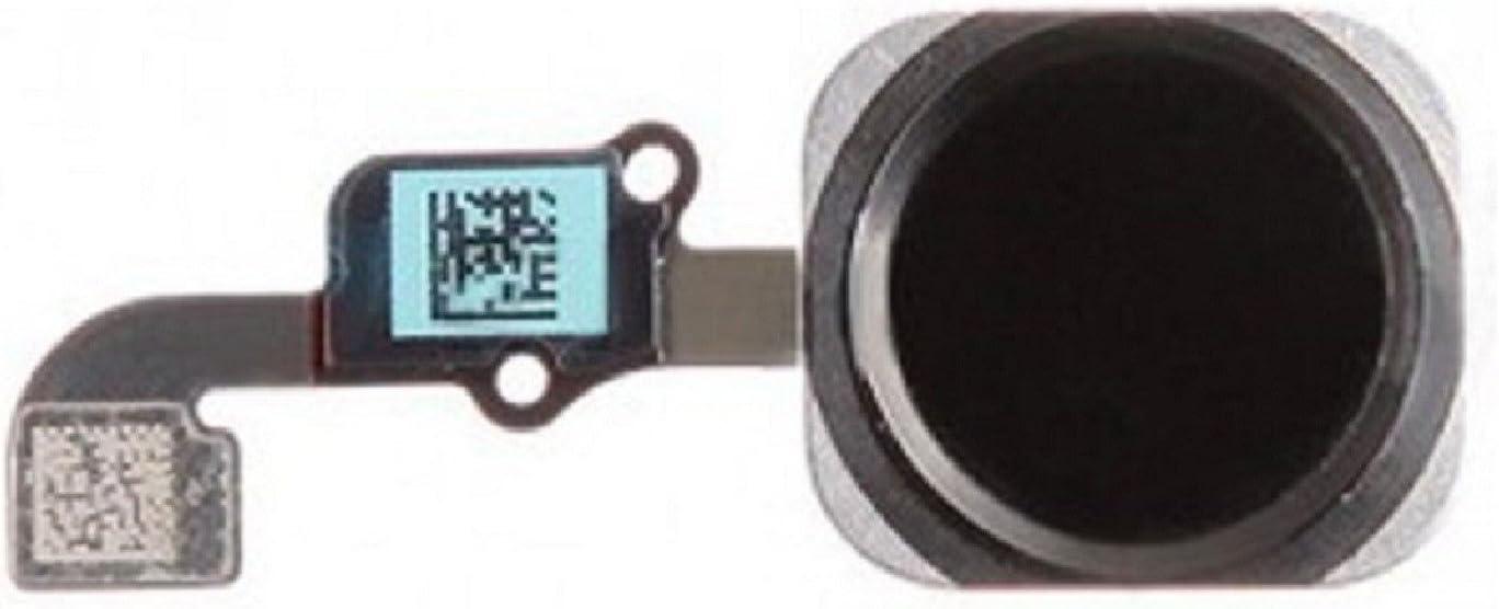 Boton Home Menu Completo con ID Touch Cable Flex para iPhone 6 4.7 Negro