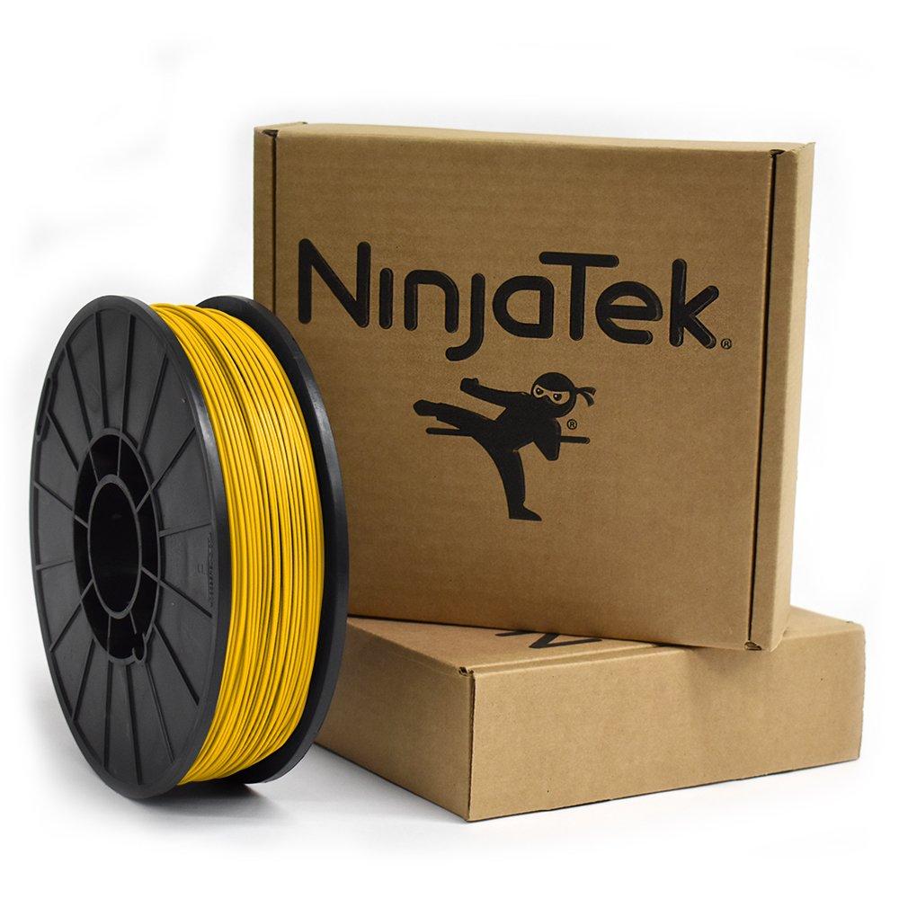Pack of 1 Yellow Sun 1kg NinjaTek 3DAR04117510 NinjaTek Armadillo TPU Filament Ninjaflex 1.75mm TPE
