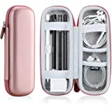 AGPTEK Apple Pencil 2 Case Holder Premium Carrying Case for USB Cable Stylus iPad Pro Pen Samsung Huawei Apple Pen…