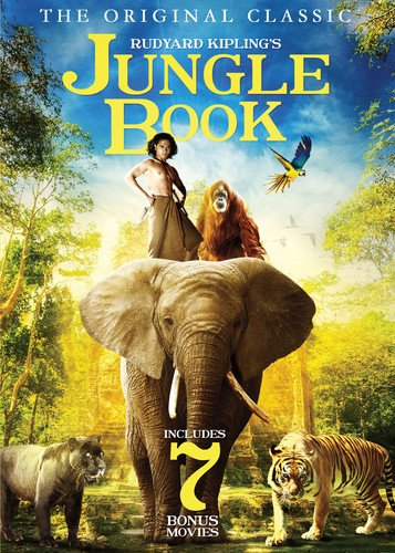 DVD : The Jungle Book (Full Frame, 2 Pack, Slim Pack, Widescreen, 2PC)