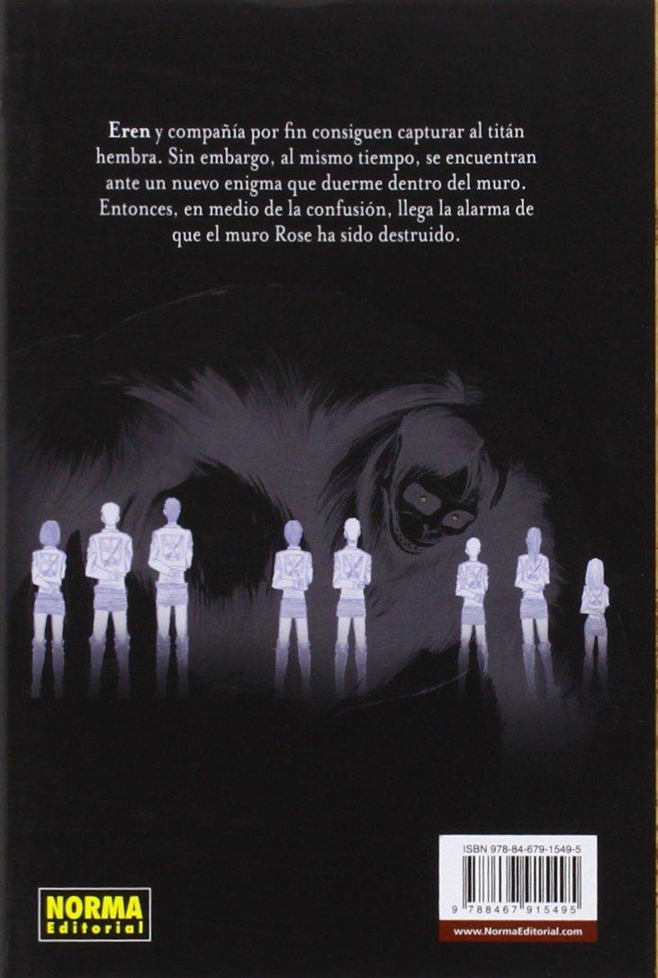 Ataque a los titanes 9: Hajime Isayama: 9788467915495 ...