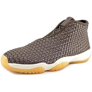 fd1c7e980a0a4f Jordan Mens Air Jordan Future Premium Leather Woven Basketball Shoes