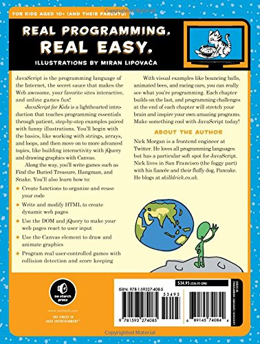 JavaScript for Kids: A Playful Introduction to Programming by No Starch Press (Image #2)