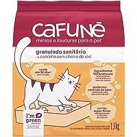 Areia para Gatos Cafuné Sem fragrância, Granulado Sanitário 1.3kg
