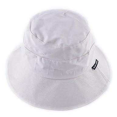ac110b38fa Toping Fine sun hat Unisex Bucket Cap Hat for Men Women Solid Color Floppy Cap  Hats