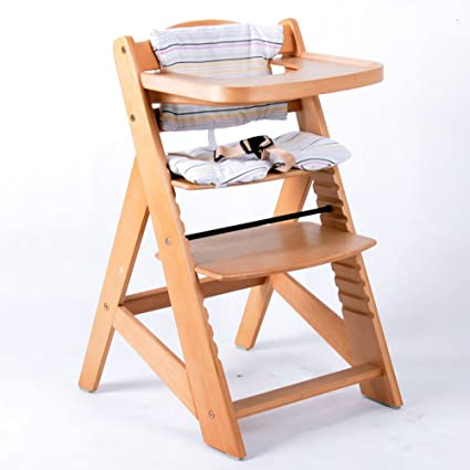 Chaise Haute En Bois Ajustable Chaise Bebe Escalier Chaise Haute