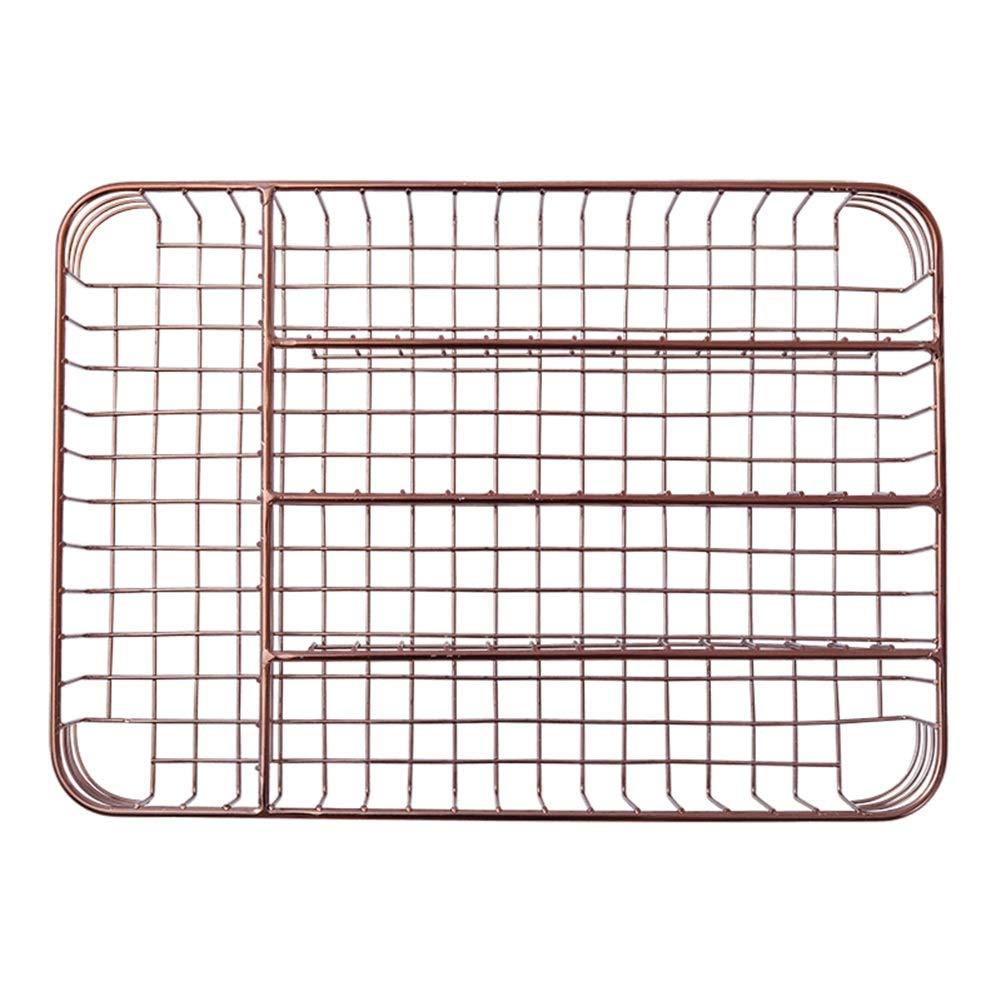 Shelf Storage Racks Pot Rack Storage Basket Shelf Baskets Cutlery Cage Storage Box Chopsticks Kitchen Drain Basket Rectangular Knife and Fork Basket ZHAOYONGLI by ZHAOYONGLI-shounajia